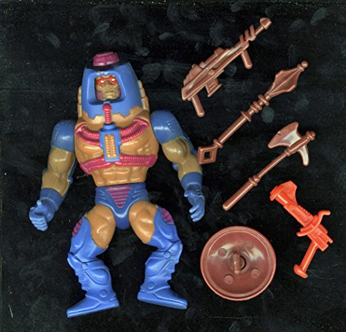 1983 Mattel MOTU Man-E-Faces Man-E-Weapons Loose Complete ()