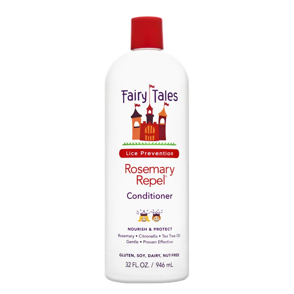 Fairy Tales Rosemary Repel Daily Kid Conditioner for Lice Prevention, 32 Fl Oz (Pack of 1) by Fairy Tales