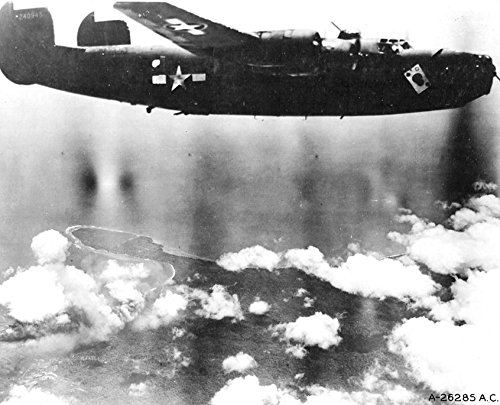 Home Comforts Laminated Poster The Ace O' Spades B-24D-115-CO Liberator s/n 42-40945 63rd Bomb Squadron, 43rd Bomb Group Ken's M Vivid Imagery Poster Print 24 x 36 ()
