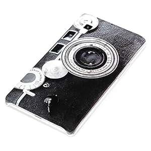 deinPhone AR-260010 - Carcasa para LG Optimus L9, diseño retro de cámara fotográfica