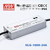 Meanwell HLG-100H-24A Power Supply - 100W 24V 4A - IP65 - Adjustable Output