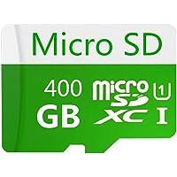 Tarjeta Micro SD de 400 GB, clase 10 SDXC de alta velocidad con adaptador SD gratuito, diseñada para teléfonos…