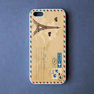 LJF phone case ipod touch 5 Case - Vintage PostCard ipod touch 5 Cover