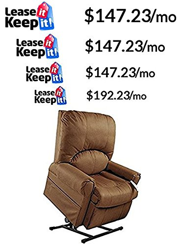 Mega Motion Easy Comfort Torch - Tall Lift Chair - Rust (Tall Lift Chair)