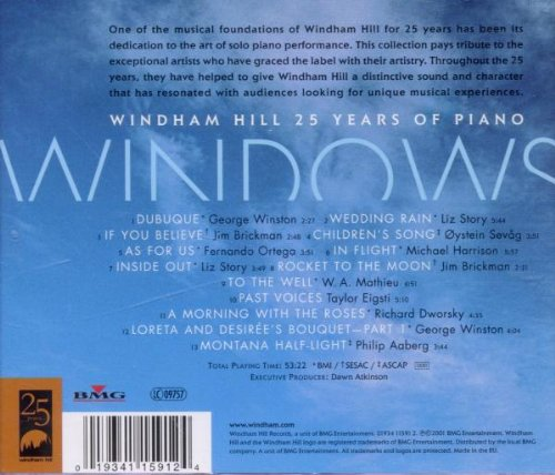 Windows: Windham Hill 25 Years of Piano
