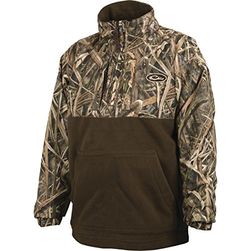 Youth Quarter Zip Pullover - Drake Youth Max5 Camo Young Guns Eqwader Quarter Zip Pullover (MAX5 16)