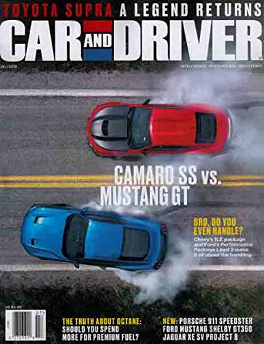 Car and Driver Magazine July - Best Magazine Cars