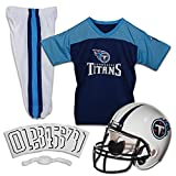 Franklin Sports NFL Tennessee Titans Deluxe Youth Uniform Set, Small