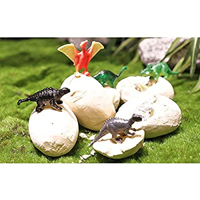 Dig a Dozen Dino Eggs Kit,12 Pack Dinosaur Eggs Toy for 4-11 Year Olds Kids Easter Gifts,Kids Dinosaur Favors STEM Toys for Party Archaeology Paleontology Educational Science Gift: Toys & Games