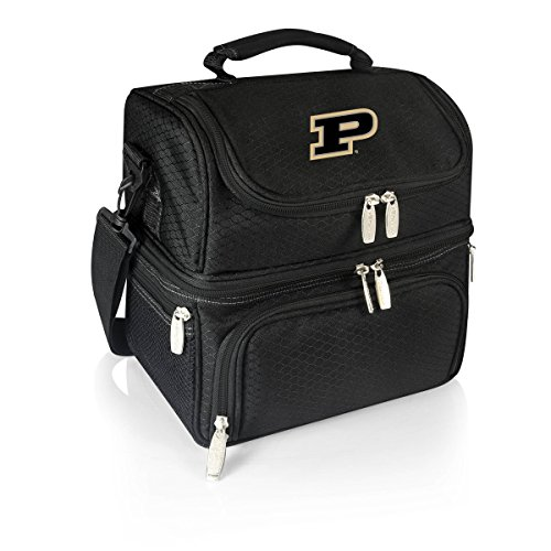 (NCAA Purdue Boilermakers Pranzo Insulated Lunch Tote, Black)