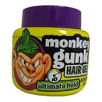 amazon com monkey gunk hair gel ultimate hold 7 5 oz beauty