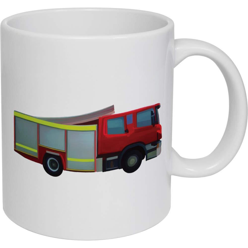 Azeeda 320ml Camion de Bomberos Taza de Ceramica (MG00016317 ...