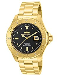 Invicta Men's Watch 15286 Pro Diver model Stainless Steel Watch, Gold