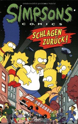 Simpsons Comics, Sonderband 4: Simpsons schlagen zurück! Taschenbuch – 2001 Matt Groening Dino Verlag GmbH 3897481022 Belletristik