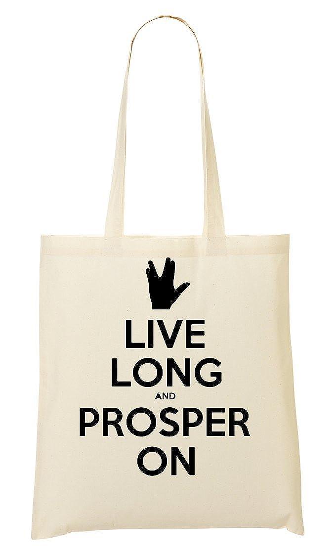 Live Long Prosper On Sac Fourre-Tout Sac À Provisions