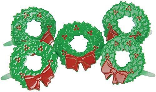 (EYELET OUTLET Shape Brads-Wreath 12/Pkg)