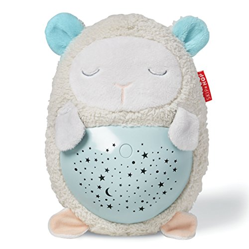 Skip Hop Moonlight & Melodies Hug Me Projection Soother, Lamb - Lullaby Night Light