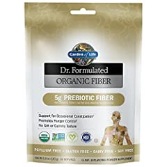 Dr. Perlmutter recommends a healthy dose of prebiotic fiber every day to feed the growth of good bacteria in our digestive tract. Organic Fiber is from 5 nutritious superfoods: Organic Acacia, Organic Orange Peel, Organic Baobab Fruit, Organi...