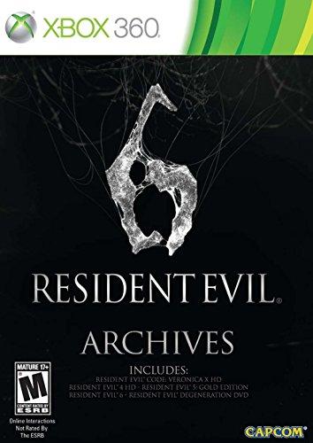 Resident Evil Pack - Resident Evil 6 Archives -Xbox 360