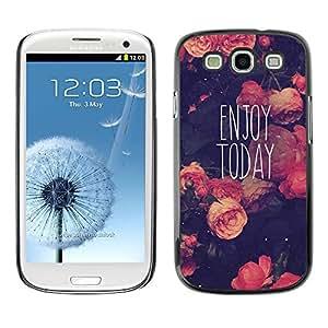 SKCASE Center / Funda Carcasa - Viñeta motivación;;;;;;;; - Samsung Galaxy S3
