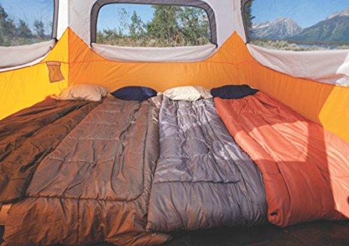 Coleman Waterproof 10 X 9-Feet 6-Person Instant Tent Orange & Coleman Waterproof 10 X 9-Feet 6-Person Instant Tent Orange ...