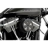 vance and hines intake - Vance & Hines VO2 Skullcap Crown Air Cleaner Insert Black 71019