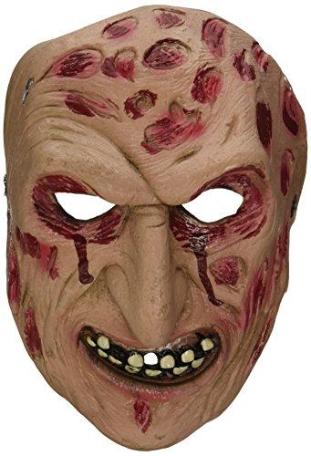 Widmann 00360 Killer Ustionato Half Face Mask Adult One Size -