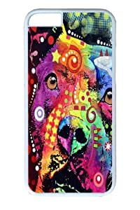For Case Samsung Galaxy S5 Cover,thoughtful pitbull love PC Hard Plastic For Case Samsung Galaxy S5 Cover Whtie