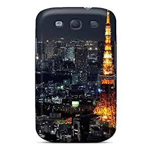 DustinHVance Snap On Hard Case Cover Tower Protector For Galaxy S3