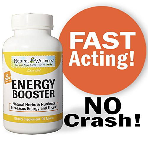 Energy Booster – A Safe and Healthy way to increase your OVERALL Energy, Focus and Performance!