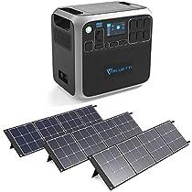 BLUETTIポータブル電源 大容量2000Wh /2000W ソーラーパネル...