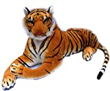 Marchie's Stuffed Soft Tiger Toy Soft Toy For Kids (40Cm) - Multi Color