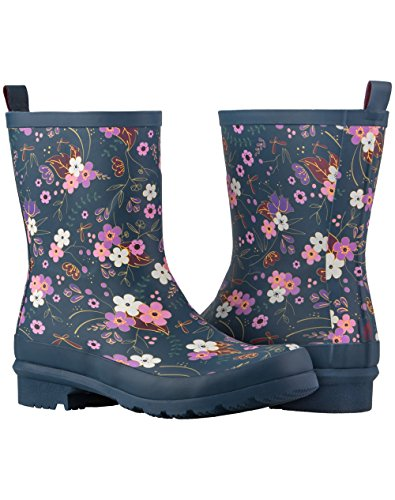 Tracker Rubber Floral Women's Boots Rain Noxon Roses Midnight Wildlife Floral Oakiwear Green Black Midnight Hunter Mint amp; Coral Storm Khaki Gray Leaf EWdY8qxww