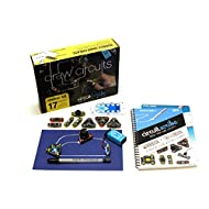 Circuit Scribe Maker Kit - Includes STEM Workbook, Conductive Silver Ink Pen, and Everything You Need to Learn, Explore, and Create Your Own Circuits and Switches!