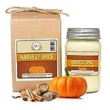 Aira Soy Candles - Organic, Kosher, Vegan, in Mason Jar w/Therapeutic...