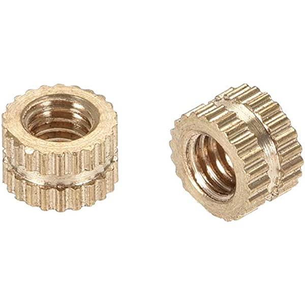 "Gold yellow brass M4 flat round cap 4mm M4 Screws bolts 10 mm 0.4/"""