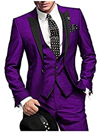 Amazoncom Purples Suits Suits Sport Coats Clothing Shoes