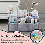 Putska Baby Diaper Caddy Organizer: Portable Holder