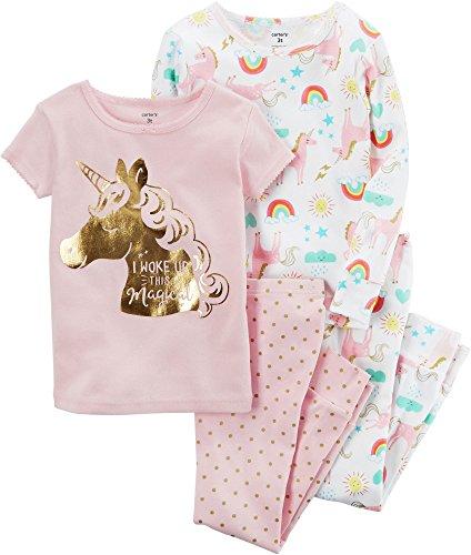 85252d51315d Jual Carter s Baby Girls  4 Pc Cotton 371g077 - Pajama Sets