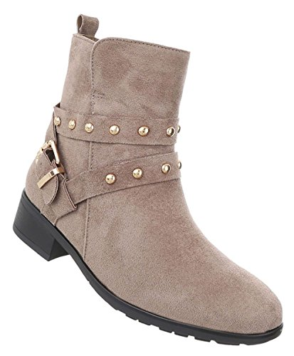 Damen Schuhe Stiefeletten Schnürer Used Optik Boots Hellbraun 40  Schuhcity24 Extrem Günstig Online T5i8la 9a9b801b9b