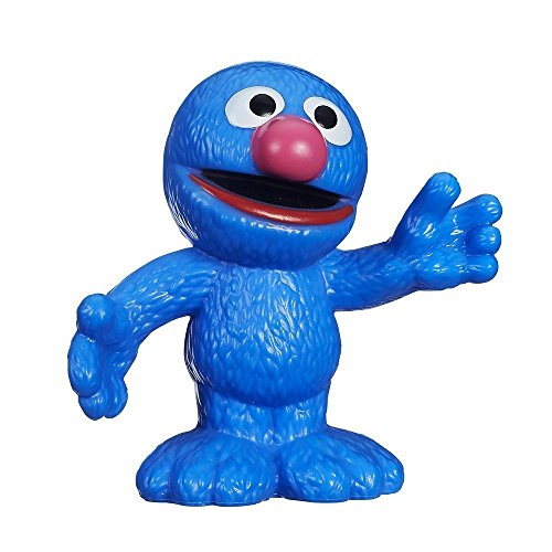 Playskool Sesame Street, Grover Figure, 2.5 Inches ()