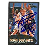 Keith Van Horn autographed Basketball Card (New Jersey Nets) 1999 Skybox  Apex. 6d9d50d78