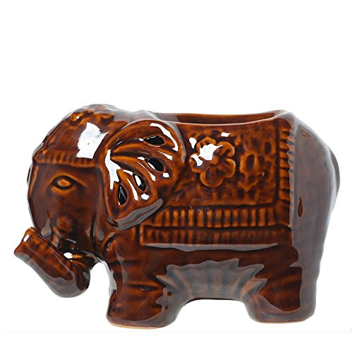Hosley Elephant Ceramic Oil Warmers - 6