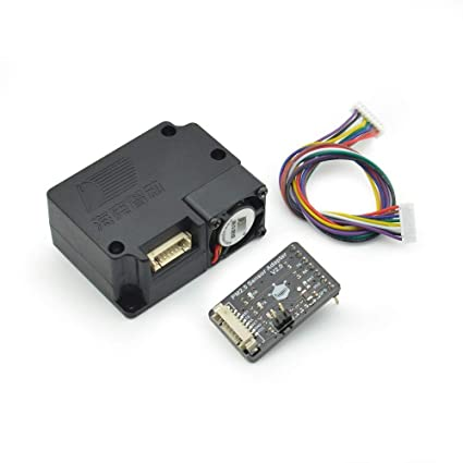 Amazon.com: DFROBOT Gravity: Laser PM2.5 Air Quality Sensor for Arduino: Computers & Accessories