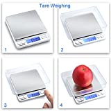 GDEALER Food Scale, 0.001oz Precise Digital