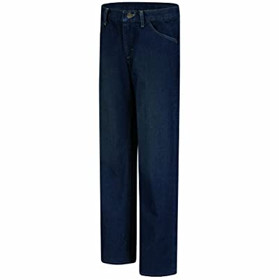 Bulwark Women's Flame Resistant Straight Fit Denim Jean