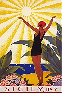 Image result for Sicily antique posters