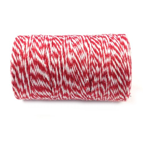 Cotton Baker's Twine 12ply 110 Yard, Red