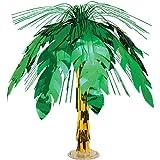 Beistle 50556 Palm Tree Cascade Centerpiece, 18-Inch