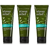 Bath and Body Works Aromatherapy Stress Relief Eucalyptus Spearmint Body Cream 8.0 Ounce (3 Pack)